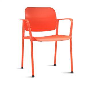 Cadeira plástica Leaf